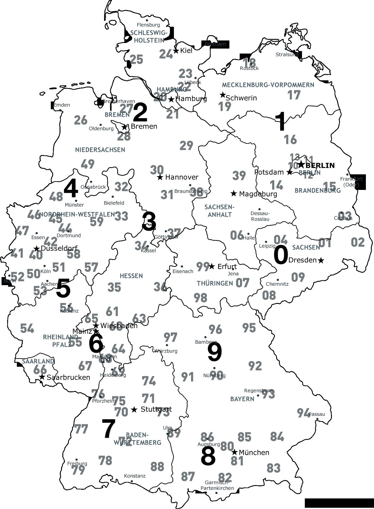 Deutschlandkarte excel kostenlos – bitte.