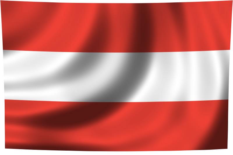 Flaggen Von Deutschland österreich Und Der Schweiz